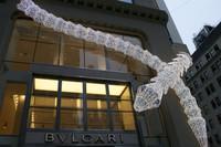 灵蛇献瑞 宝格丽纽约店盛装迎中国蛇年