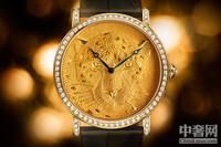 卡地亚千年工艺 打造猎豹腕表