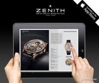 全新传承系列星动腕表 Zenith真力时推出iPad应用程序