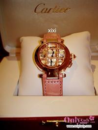 我的礼物 CARTIER手表