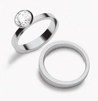 Gucci推出铂金订婚戒指