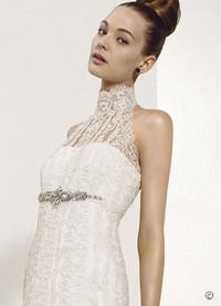 08新款施华洛世奇水晶婚纱