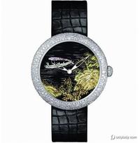Chanel珐琅腕表 绘画指间风景