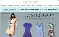 时尚购物网站Shopbop官网限时8折特惠
