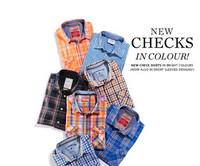 ESPRIT搭配TIPS:绅士格纹衬衫怎么穿?