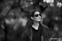 镜框生活 文艺超模演绎GIORGIO ARMANI 2013眼镜系列