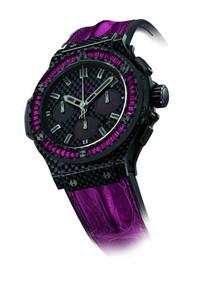 宇舶珍稀宝石碳纤方型腕表