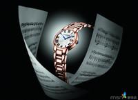 2013巴塞尔表展新品:蕾蒙威佳茗系列玫瑰金腕表