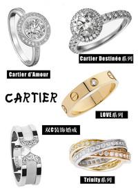 谁是王中之王 珠宝品牌婚戒系列大搜罗