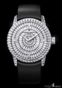 江诗丹顿Patrimony Traditionnelle高级珠宝腕表