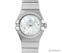 欧米茄星座系列新品上架 腕表与钻石的完美邂逅