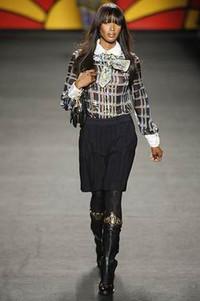 Anna Sui 2006秋冬纽约时装发布