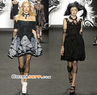 Anna Sui 2007春夏格调注入庞克时尚的态度