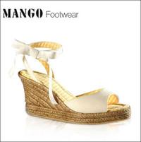 春夏色彩 MANGO漂亮凉鞋