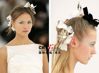 Chanel发型发饰秀