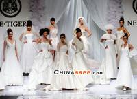 NE·TIGER东北虎婚纱童话版的绝美新娘秋冬秀场
