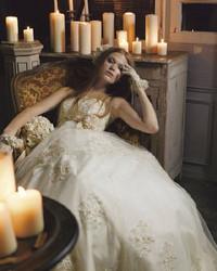 做个海洋公主 浪漫复古婚纱系列