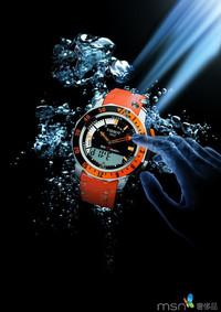 探访深海的生命源地  天梭多功能专业潜水腕表