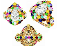迪奥全新Cher Dior高级珠宝 缤纷色彩奢华无比