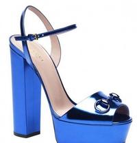 热带风情 Gucci 2014度假系列鞋履