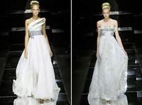 施华洛世奇水晶礼服 名贵奢华新娘