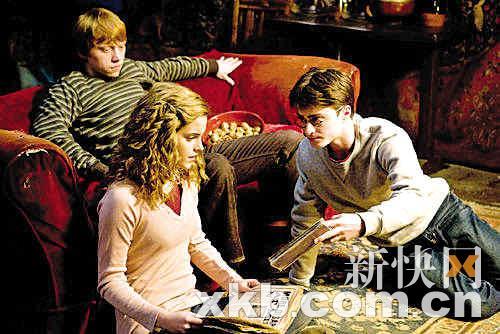 """21日上映的""""哈利·波特""""第六部《哈利·波特与混血王子》(Harry"""