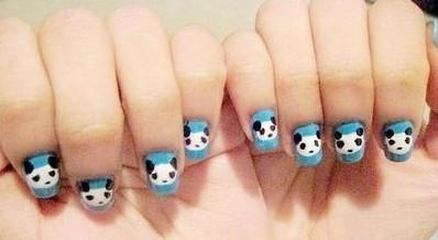 美甲回归童真孩童时 打造指尖上的动物园