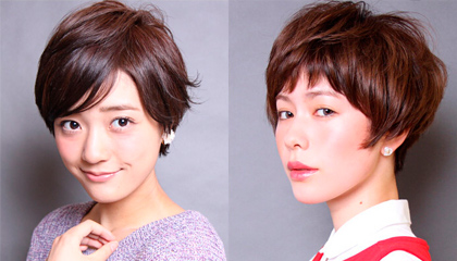 短发发型图片2014女 甜美灵动最in