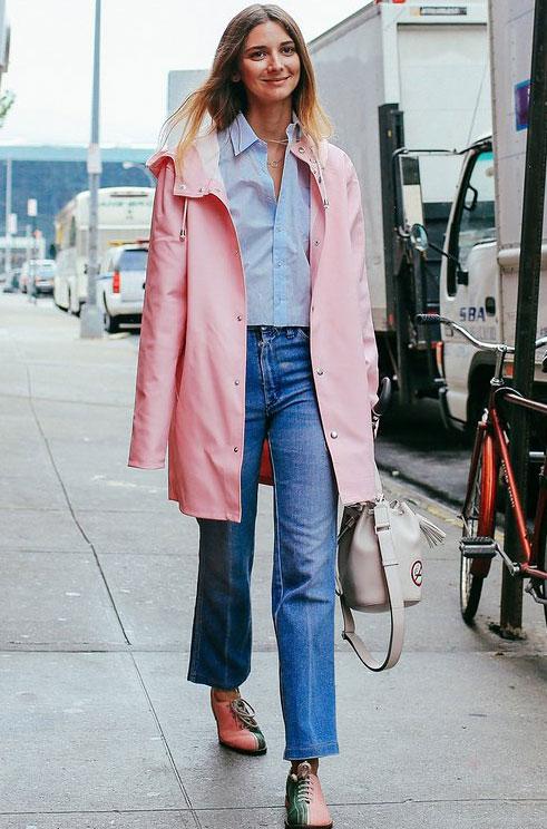 纽约时装周街拍更有料 时髦二字已不够形容