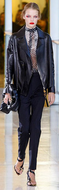 Anthony Vaccarello 2016春夏巴黎时装周