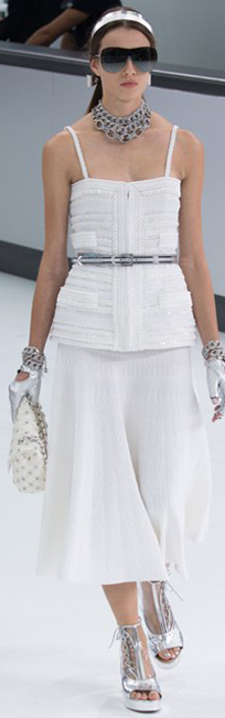 Chanel 2016春夏巴黎时装周