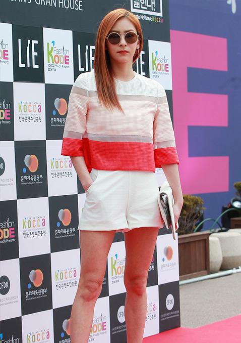 王智媛(Ji_won Wong)俏皮淑女风