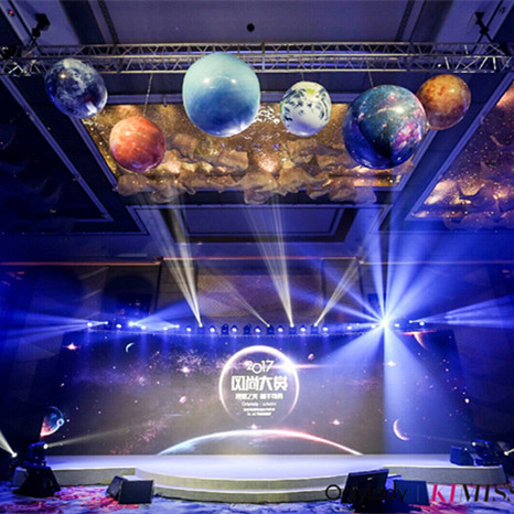 星球主题舞台