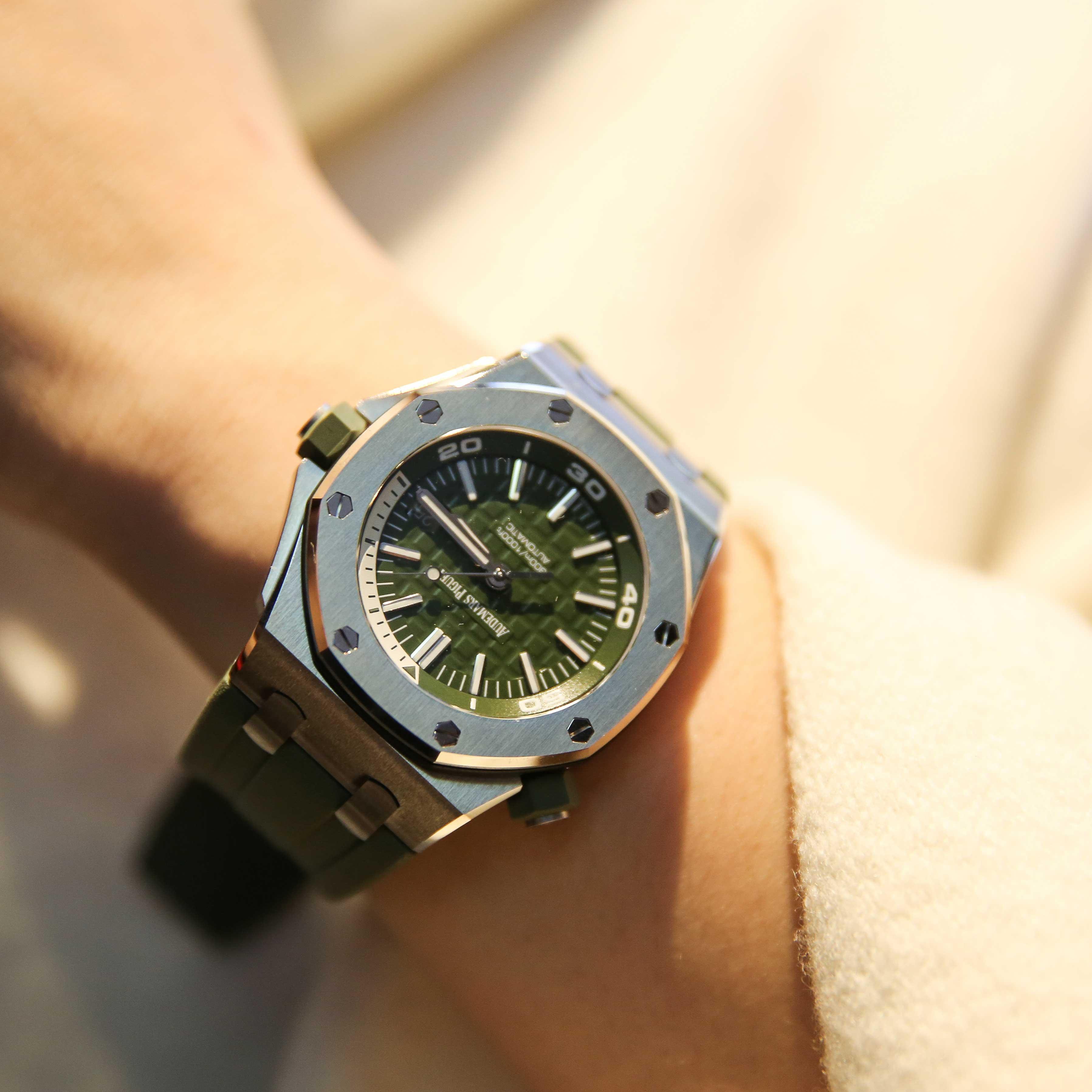 爱彼皇家橡树系列自动腕表