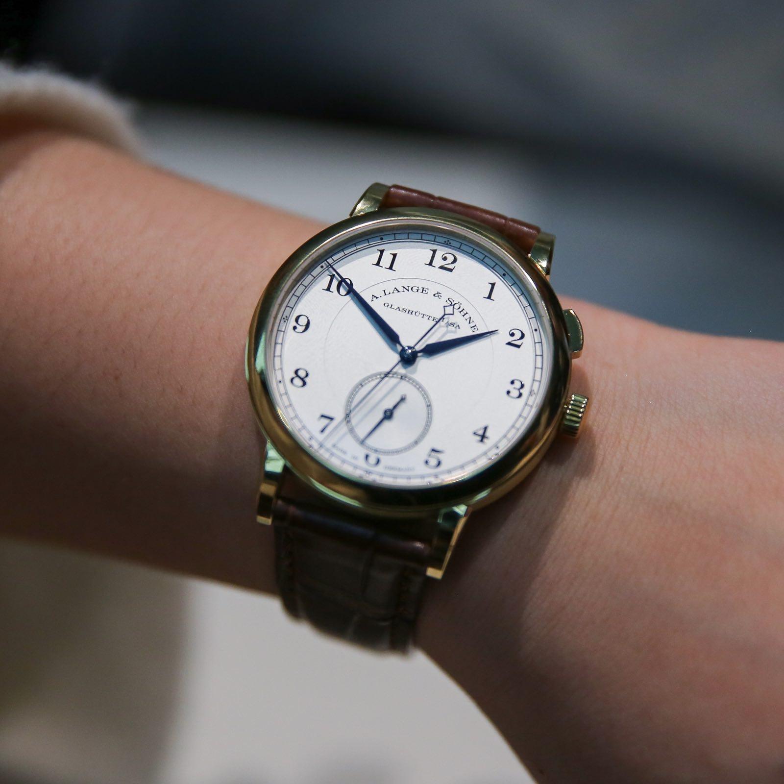 朗格 1815Homage  to  Walter  Lange纪念瓦尔特‧朗格特别版腕表