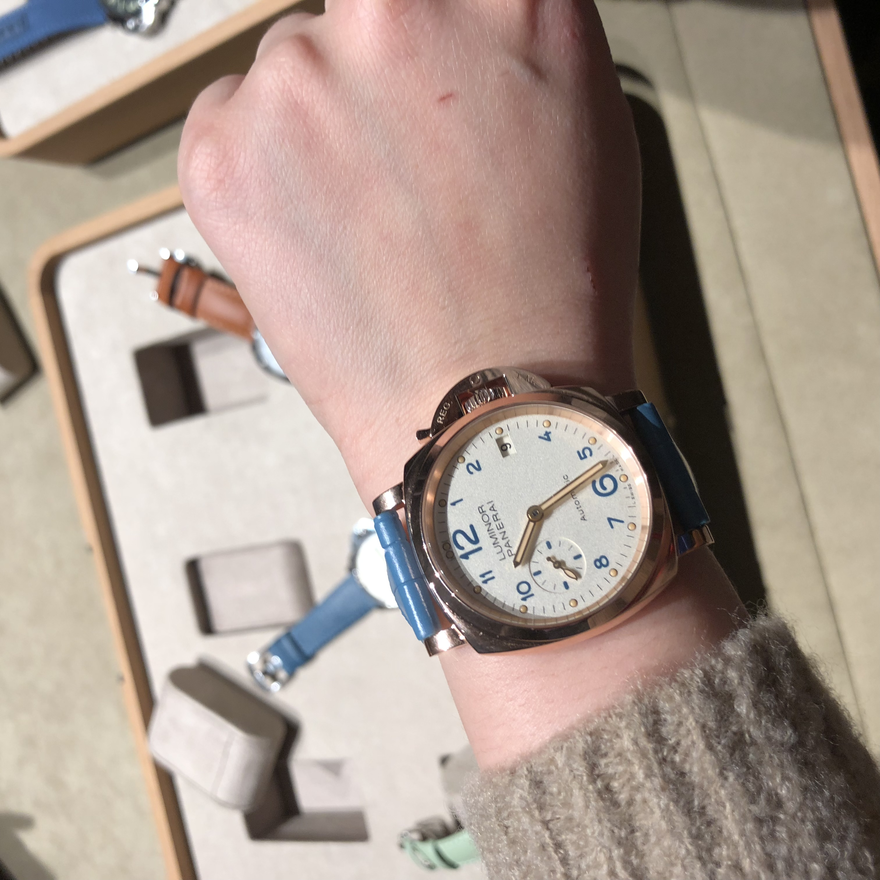 沛纳海 3日动力储存自动腕表