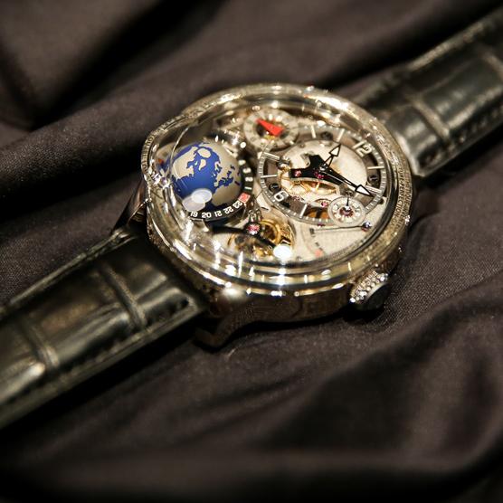 高铂富斯 GMT Earth腕表