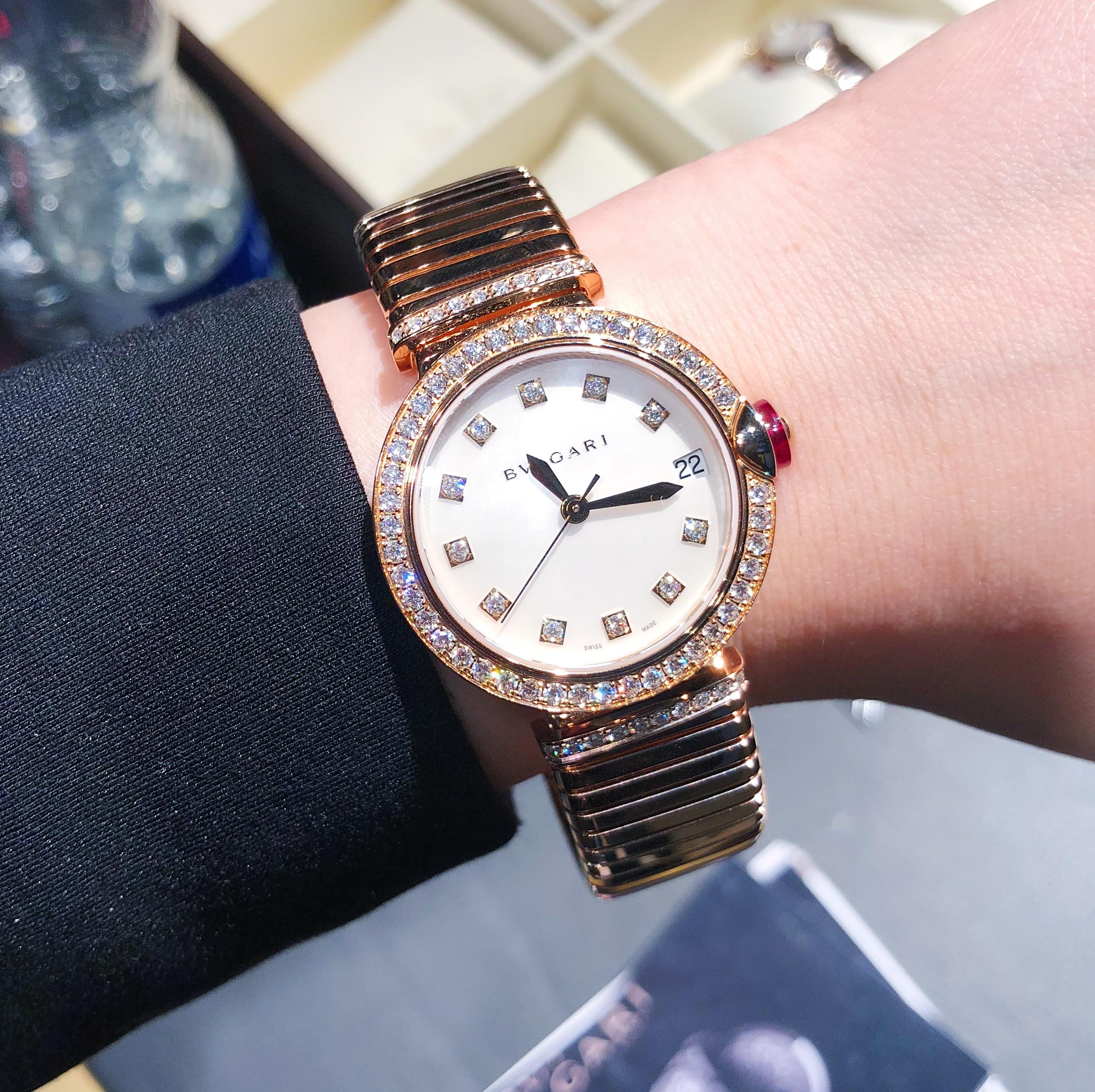 宝格丽新款腕表