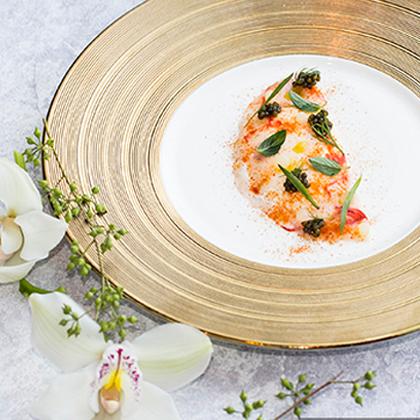 北京金融街丽思卡尔顿酒店 意味轩餐厅推出鱼子酱轻奢飨宴