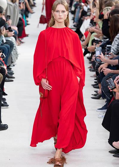 Valentino 2019春夏时装秀