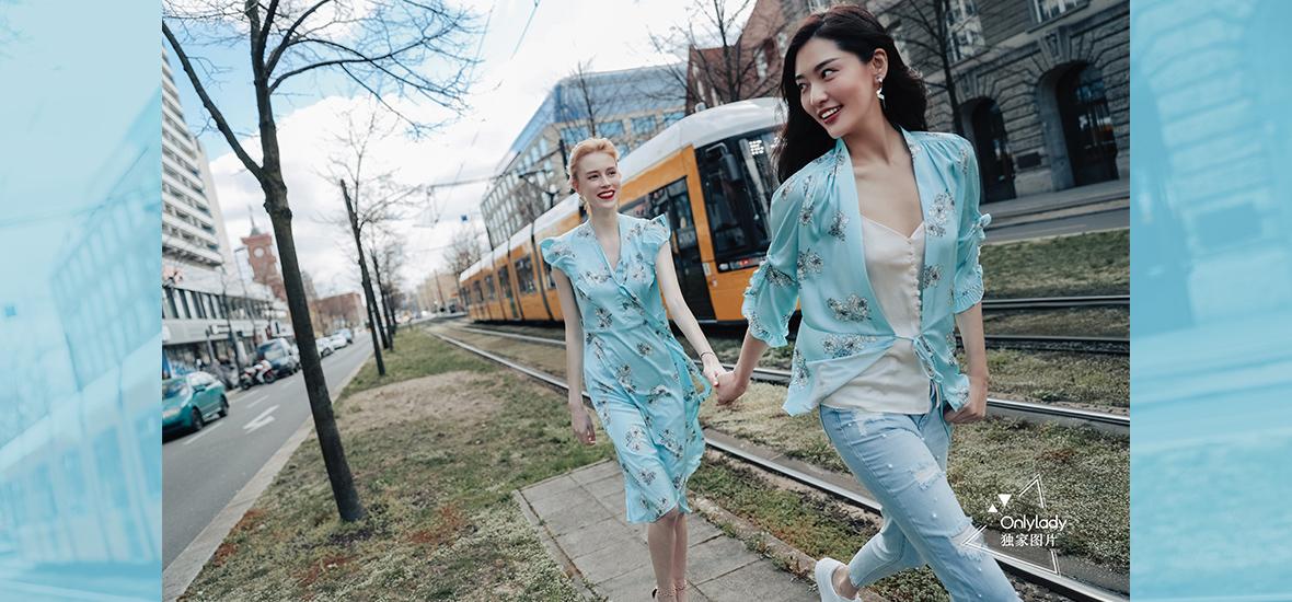时髦共生,超模陈碧舸带你点燃春夏活力!
