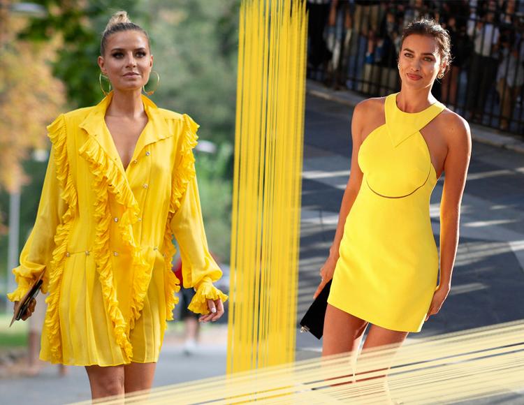 一条小黄裙明媚你的夏天!