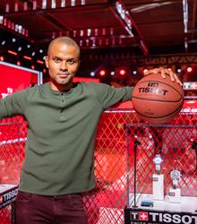 天梭表助力2019国际篮联篮球世界杯总决赛 全球形象代言人托尼·帕克空降现场一同见证荣耀时分