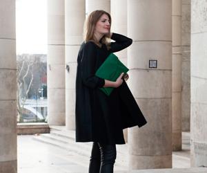 巴黎时装周Day3  OL时尚博主街头全示范