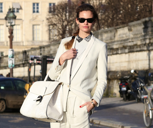 OL时尚博主强势席卷 秋冬巴黎时装周街头