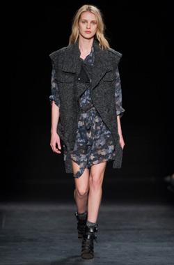 低调洒脱的法式时尚  Isabel Marant 秋冬