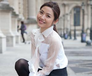 OL时尚博主带你观战2014巴黎时装周街头