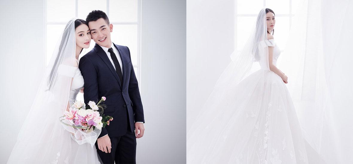 張馨予婚紗照曝光 嫁給愛情的女人最美麗!