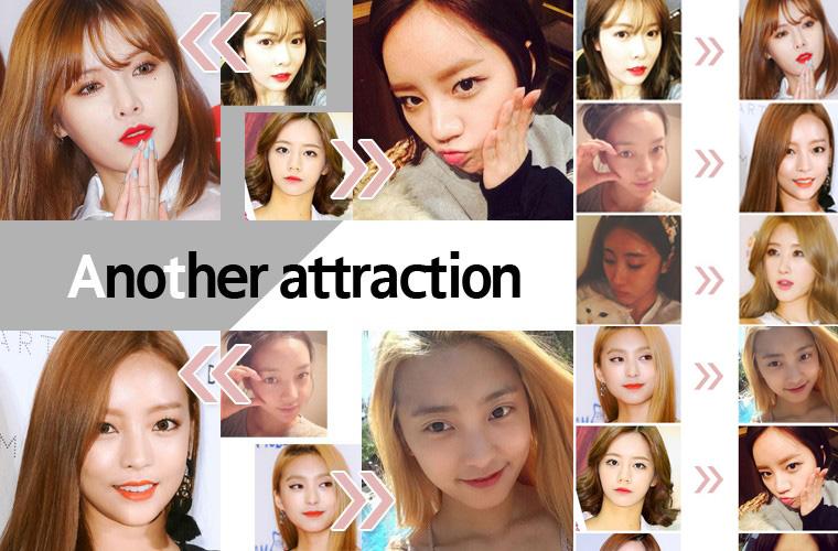 解析泫雅宝拉等女团成员的反转美妆魅力