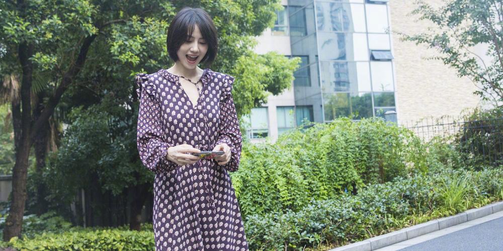 入秋买新衣?不如像高圆圆一样来条花裙!